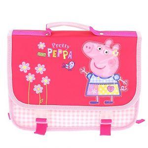 ATM Dessins animes Cartable Peppa Pig Pretyy Peppa 30 cm Rose