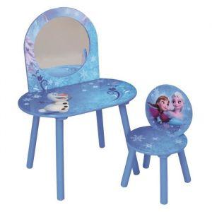 Fun House Disney Reine des Neiges coiffeuse avec chaise pour enfant
