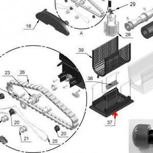 Procopi 1017325 - Porte filtre Star Vac III, Sunval