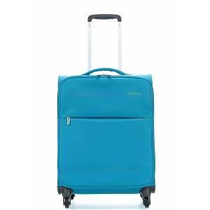 American Tourister Herolite Super Light 4 Wheel Trolley 55 cm mighty blue (80371)