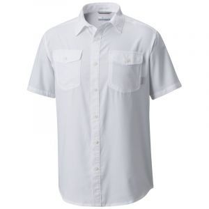 Columbia Chemise Utilizer ll Solid Short Sleeve Shirt blanc - Taille EU S