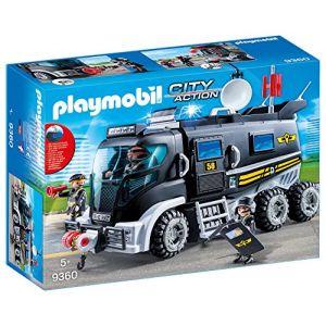 Playmobil 9360 - SWAT : équipe camion avec la lumière et sons