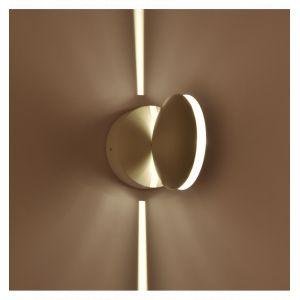 Kosilum Lustre Plafonnier Futuriste pour couloir LED 9W - Eclipse