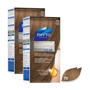 Phyto Paris Phytocolor 7D Blond Doré - Coloration soin permanente haute brillance