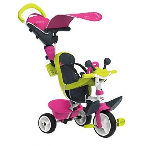 Smoby Tricycle Baby Driver Confort - Rose