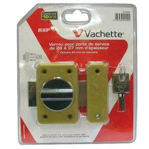Vachette Verrou de sureté bouton et cylindre série RXP - Longueur 40 mm