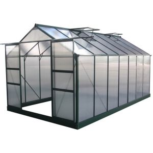 Viva Green Dahlia - Serre jardin polycarbonate 13,29 m²
