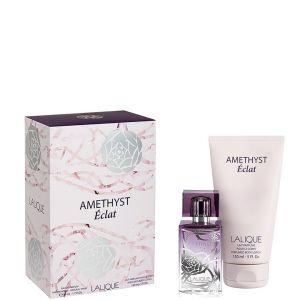 Lalique Amethyst Éclat - Coffret eau de parfum et lait parfumé pour le corps