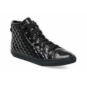 Geox New Club D, Sneakers Hautes femme, Noir (C9999/Vern Sint), 41 EU