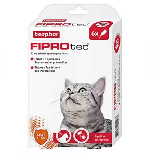 Beaphar Fiprotec chat 6 pipettes