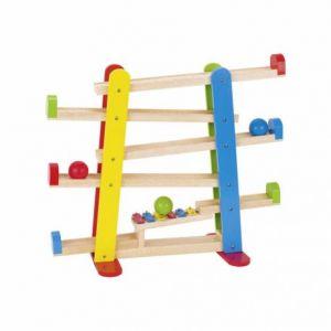 Goki Toboggan des Boules avec Xylophone, 53825, Multicolore