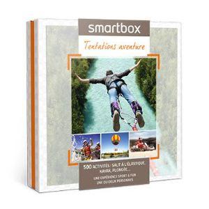 Smartbox Tentations aventure - Coffret cadeau