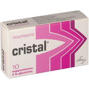 Cooper Cristal Nourissons - 10 Suppositoires