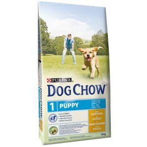 Dog chow Puppy Poulet et Riz - Sac 14 kg
