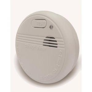 Lifedom Détecteur de fumée NF & EN14604 avec pile et accessoires