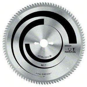 Bosch 2608640447 - Lame de scie circulaire Multi Material 216 x 30 x 2,5 mm 80 dents