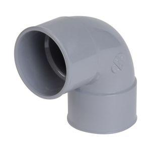 Nicoll COUDE 87°30 FF - UCF88 - PVC GRIS - Ø 32 MM