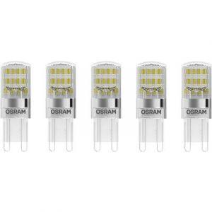 Osram Ampoule LED G9 4058075093898 forme spéciale 1.9 W = 20 W blanc chaud (Ø x L) 16 mm x 46 mm EEC: classe A++ 5 pc(s
