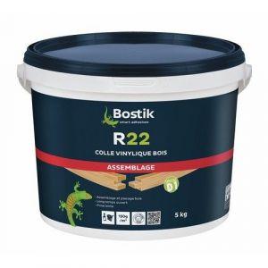 Bostik Colle à bois vinylique R22 à prise lente - Seau de 20kg
