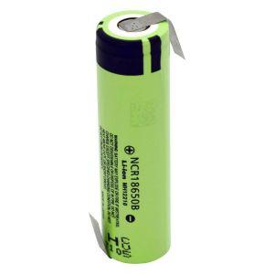 Panasonic NCR18650B ZLF Pile rechargeable spéciale 18650 Li-Ion 3.7 V 3400 mAh