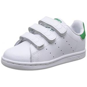 Adidas Baskets basses enfant STAN SMITH CF I Blanc - Taille 19,20,21,22,23 1/2
