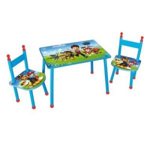 Fun House Ensemble table et 2 chaises Pat'Patrouille