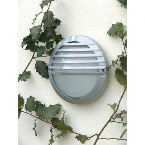 Brilliant AG Maritim - Applique extérieure électrique ronde en aluminium diam. 26.5 cm