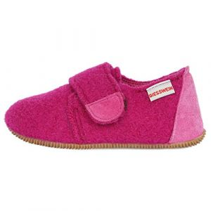 Giesswein Saal, Chaussons Bas Fille, Violet (Traube 374), 32 EU