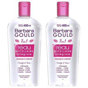 Barbara Gould L'eau micellaire intégrale 7 en 1 douceur/confort grand format 400 ml
