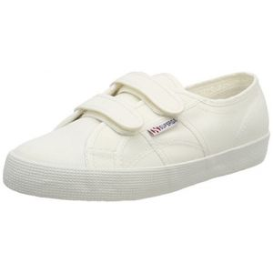 Superga 2750 Cotbumpvel, Baskets Mixte Enfant, Weiß (White), 34 EU