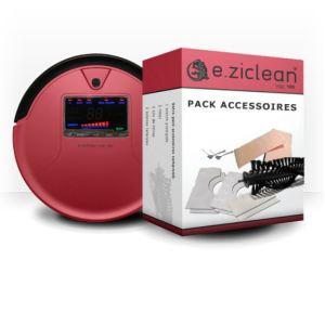 E.ZICOM Pack accessoires pour l'aspirateur robot E.ziclean vac100