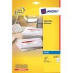 Avery-Zweckform 600 étiquettes d'adresse (3,39x  6,35 cm)
