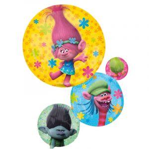 Fontaine de ballons à hélium Trolls