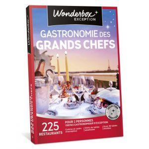 Wonderbox Gastronomie des grands Chefs - Coffret cadeau 225 restaurants