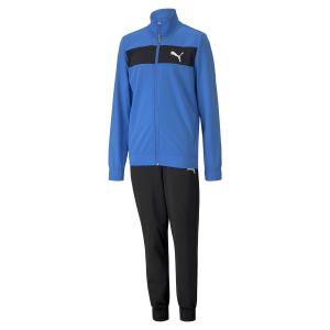 Puma Poly Suit cl B Survêtement Garçon, Palace Blue, FR Unique (Taille Fabricant : 140)