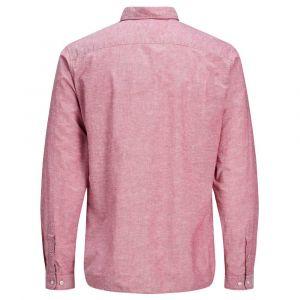 Jack & Jones Boutonnée, Lin Chemise Men pink