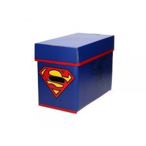 Boite de rangement en carton Comic Dc Superman (35 x 19 x 30 cm)