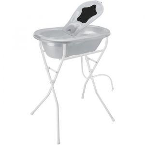 Rotho Top Line - Lot baignoire, transat, pied de baignoire et tube de vidange