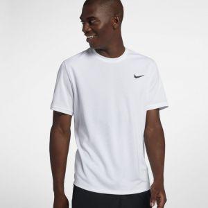 Nike Haut de tennisà manches courtes Court Dri-FIT pour Homme - Blanc - Taille L - Male