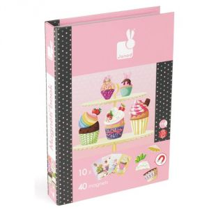 Janod Magnetibook Cup Cakes