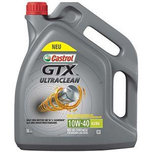 Castrol GTX Ultraclean 10W-40 A3/B4 5 Litres Bidon