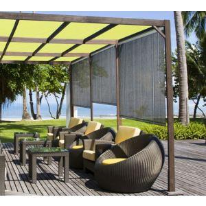 Morel STO 100 - Store d'ombrage extérieur 100 x 180 cm - 165 g/m²