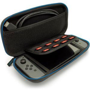 igadgitz U6755 - EVA Étui Housse Pochette Rigide Compatible avec Nintendo Switch - Noir