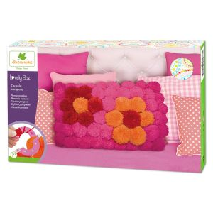 Sycomore Lovely Box XL Coussin en pompons