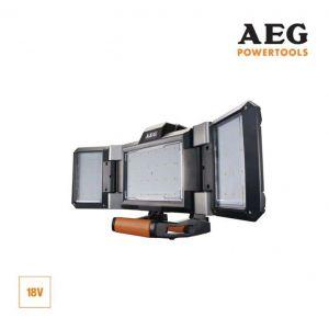 AEG Projecteur LED triple panneau 18V Prolithium-ion - sans batterie ni chargeur - BPL18-0