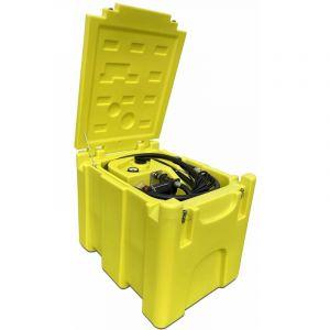 Varan Motors Motors - NEDLP-32 Réservoir transportable à carburant 200 litres avec pompe de transfert 12v 3300l/min, Cuve de transport pistolet de distribution diesel et huile, distributeur nomade