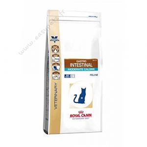 Royal Canin Gastro Intestinal Moderate Calorie GIM 35 Veterinary Diet - Croquettes pour chat 2 kg