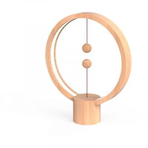 Allocacoc Round Heng Lamps (Light Wood)