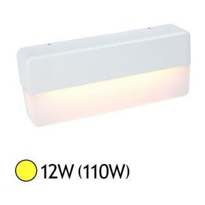 Vision-El Applique murale LED COB 12W (110W) IP65 Blanc chaud 3000°K