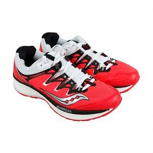 Saucony Chaussures triumph iso 4 rouge blanc 41
